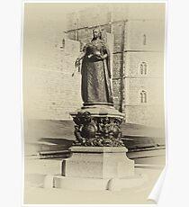 Queen Victoria Statue Windsor Poster