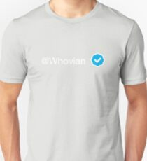 @Whovian (verified) Unisex T-Shirt