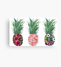 Ananas Leinwanddruck