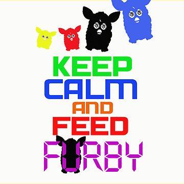 Furby FUrbish by artofdesign21