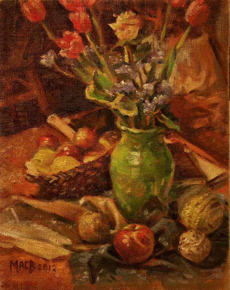 Flowers and Fruit by Michael Brennan