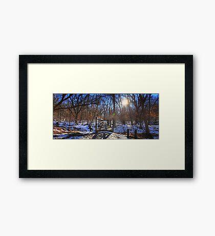 Joirney Framed Print