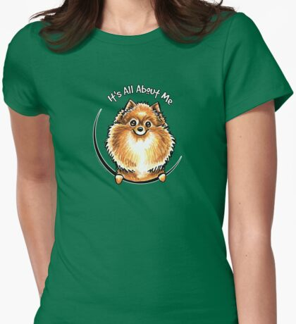 Orange Pomeranian :: Its All About Me T-Shirt