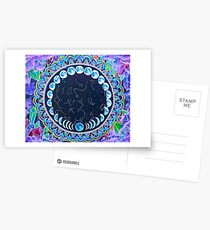 Gereinigt durch den Mond Postkarten