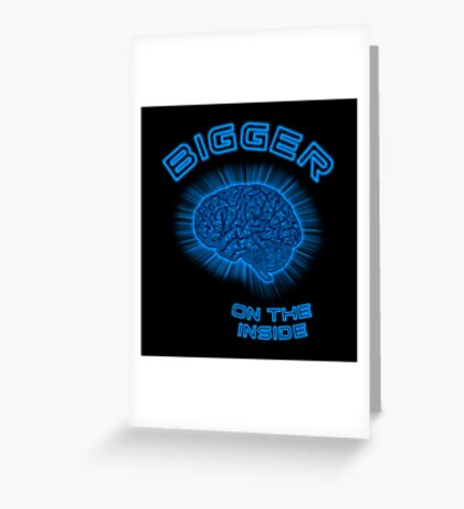 Thoughts And Radical Dreams Inside Skull Greeting Card