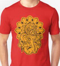 Ganesh (yellow/gold and black) T-Shirt