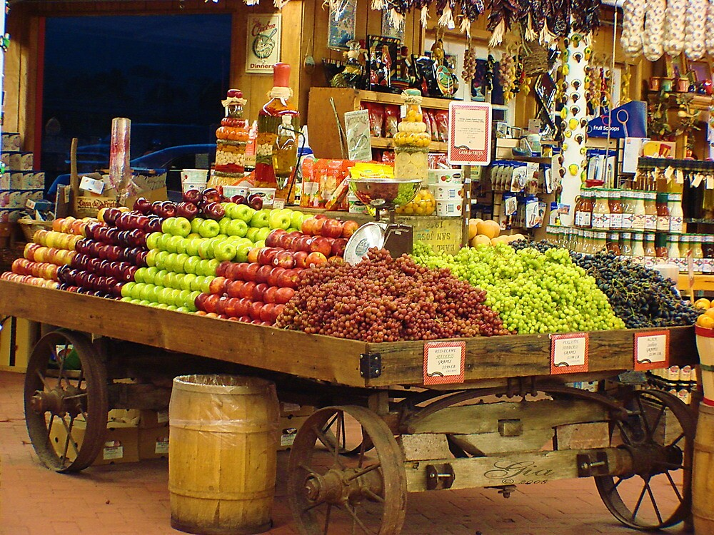 """""""The Fruited Cart"""" by Gail Jones"""