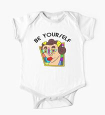 """Funny Women's """"Be Yourself"""" One Piece - Short Sleeve"""