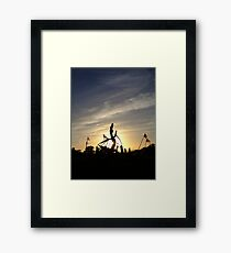 Sun Dragon Framed Print