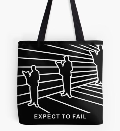 Ames Room - Expect to Fail VRS2 Tote Bag