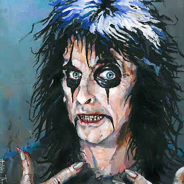 Alice Cooper - Fangoria cover art 307 by AshleyThorpe