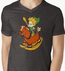 A Link in the Past Mens V-Neck T-Shirt