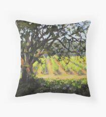 Vineyard's Edge Throw Pillow
