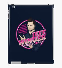 Jeff Winger: Speech Coach iPad Case/Skin