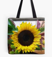 A Flower's Sunny Face Tote Bag