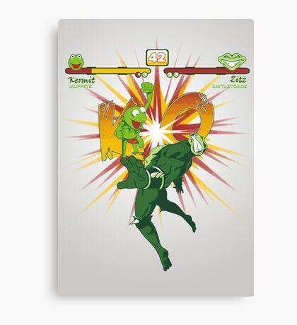 SWAMP FIGHTER Canvas Print