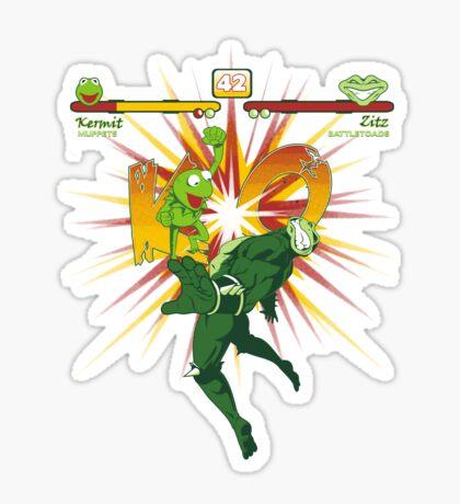 SWAMP FIGHTER Sticker