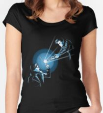 BARTY VS DOCTOR Women's Fitted Scoop T-Shirt