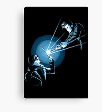 BARTY VS DOCTOR Canvas Print