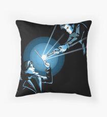BARTY VS DOCTOR Throw Pillow