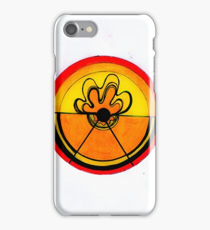 Neon Orange iPhone Case/Skin