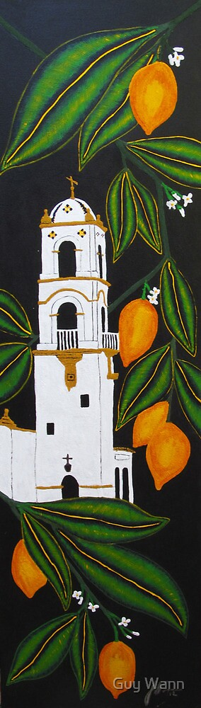 Ojai Lemons by Guy Wann