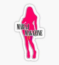 Maraj Magazine T-Shirt Sticker