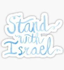 Stand with Israel Sticker