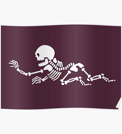 Crawling Skeleton VRS2 Poster