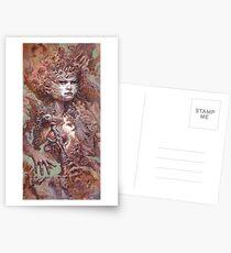 Interwoven Postcards