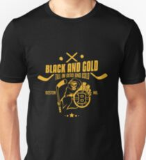 Black and gold - Boston Bruins T-Shirt