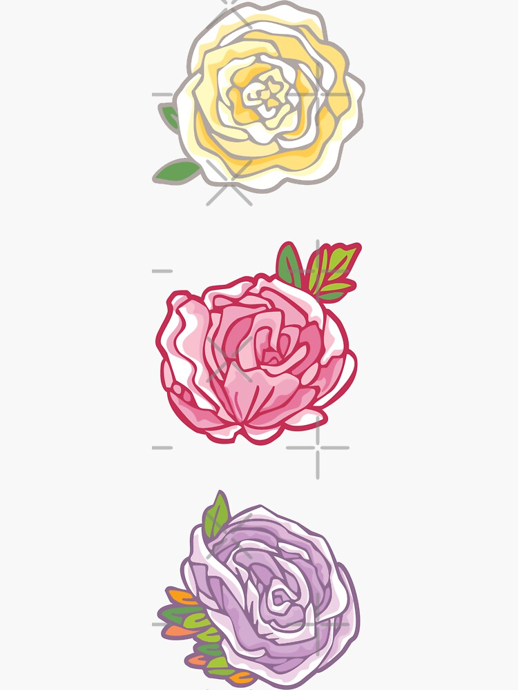 Decorative Roses by rusanovska