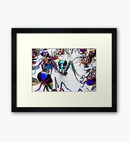 Age of migration Framed Print