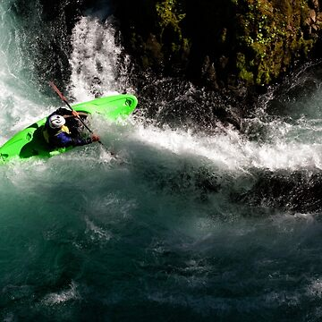Whitewater Kayaker by DaleCody
