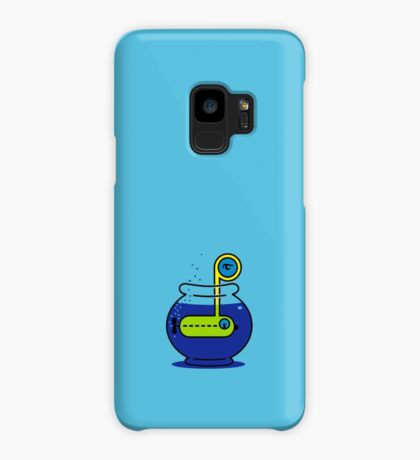 Yellow Submarine in a Bowl VRS2 Case/Skin for Samsung Galaxy