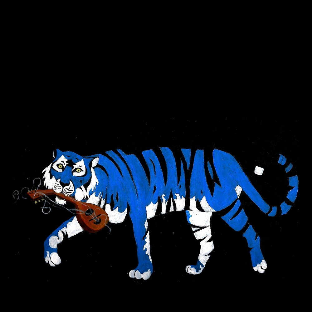 Mandolin Tiger by Jaye Bransgrove