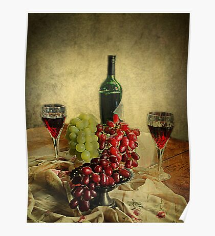 Wine and the Grapes,  Poster