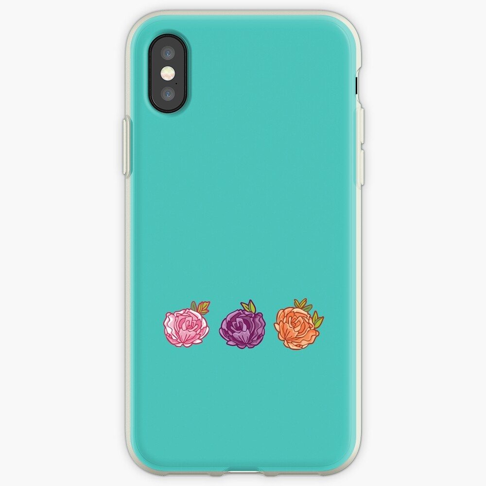 Decorative Roses iPhone Case & Cover