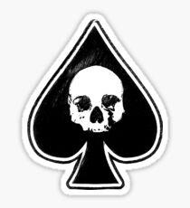 Ace Of Spades rock t shirt Sticker