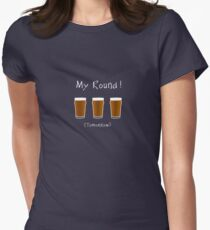 Free Beer Tomorrow!  -  T Shirt Women's Fitted T-Shirt