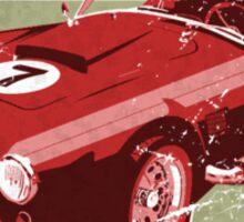Vintage Feel Lucky Seven Cobra Classic Sports Car Sticker
