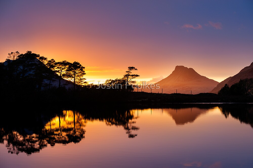 Stac Pollaidh, Sutherland, Scotland by Justin Foulkes
