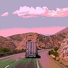 """"""" On The Road Again """" ~ A Trucker's Life by Gail Jones"""