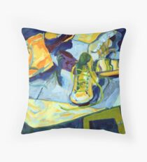 students' Shoes Throw Pillow