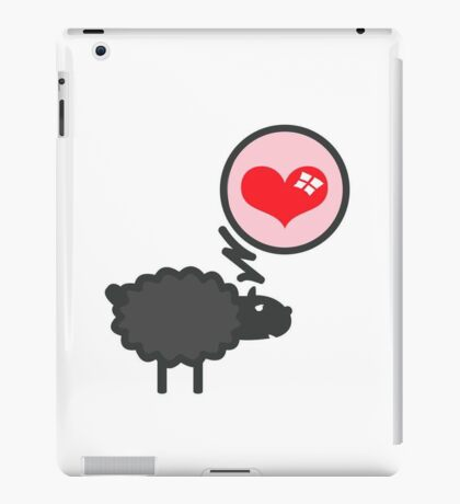 Black Sheep in Love VRS2 iPad Case/Skin