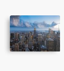 Storms and Sunsets Metal Print