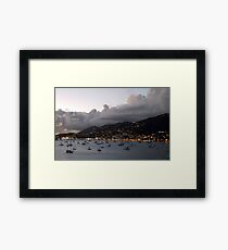 Sundown on St. Thomas Framed Print