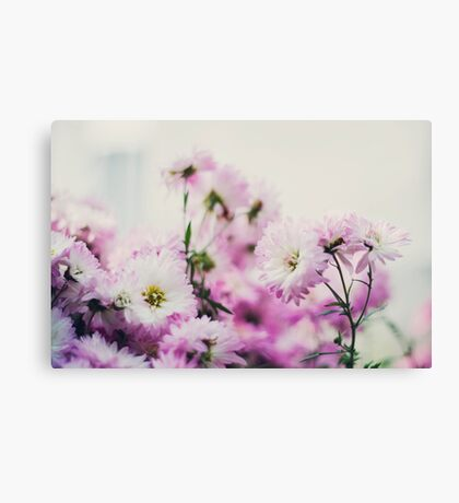 Dainty Flowers Canvas Print