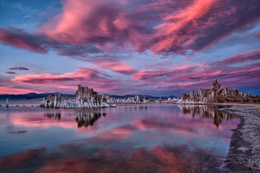 Mono Lake Sunset by Cat Connor