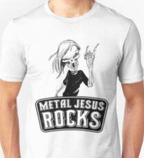 Metal Jesus RISEN Unisex T-Shirt